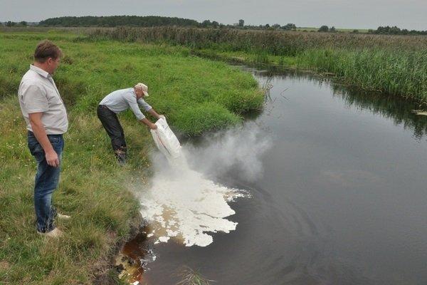 Удобрение прудов в рыбоводстве